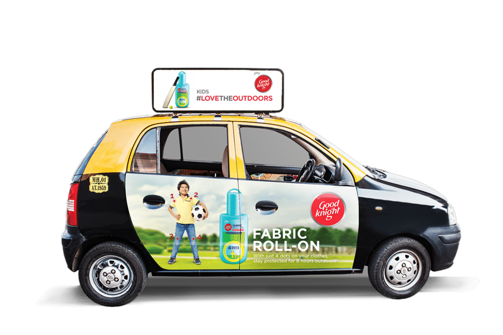 Litcab Taxi Advertising