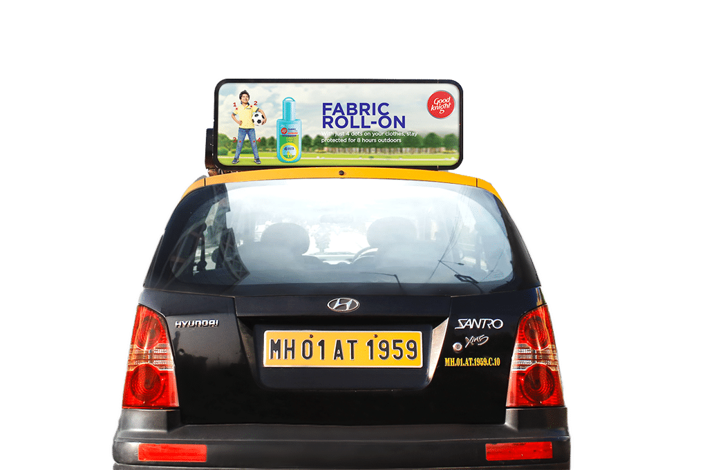 Litcabs Taxi Advertising