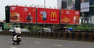 Burger King and McDonald's